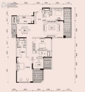 恩瑞御西湖4室2厅3卫271平方米户型图