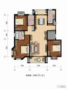 恒盛埃菲尔映像3室2厅2卫0平方米户型图