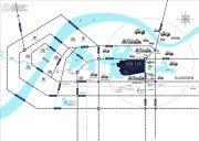 碧桂园生态城左岸交通图