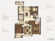 石湖天玺3室2厅2卫154平方米户型图