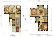 华升南山郡5室2厅4卫353平方米户型图