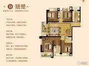 深业滨江半岛4室2厅3卫191平方米户型图