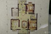 上海大花园 多层3室2厅1卫110平方米户型图