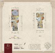 俊发城4室2厅3卫0平方米户型图