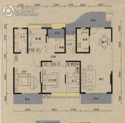 保利国际城翡丽湾3室2厅3卫192平方米户型图