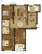 广厦・聚隆广场3室2厅2卫167平方米户型图