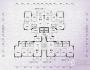 锦绣国际花城3室2厅2卫96平方米户型图
