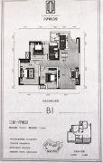 寅吾伊顿公馆3室1厅1卫78--90平方米户型图