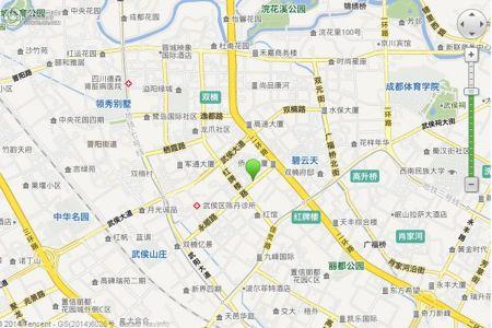成都雍锦长岛地图