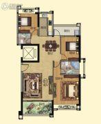 壹品湾3室2厅2卫129平方米户型图