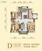 碧桂园・凤凰城3室2厅2卫117--122平方米户型图