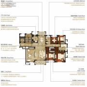 洛城中央御景4室2厅2卫212--220平方米户型图