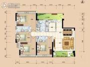 华安珑廷4室2厅3卫150平方米户型图
