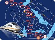 港湾江城交通图