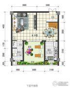 闲情偶寄2室2厅2卫98平方米户型图