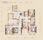 海宁湾4室2厅3卫190平方米户型图