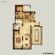 弘阳上湖4室2厅2卫302平方米户型图