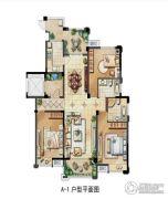 保利香槟国际3室1厅2卫143平方米户型图