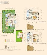 奥园城市天地3室2厅2卫98平方米户型图