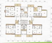 东海银湾3室2厅2卫70--91平方米户型图