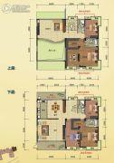 榕江明珠5室4厅3卫351平方米户型图