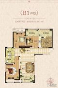 正商林语溪岸3室2厅2卫139平方米户型图