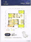 春风紫金港3室2厅2卫107平方米户型图