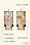 红土天阶2室2厅1卫0平方米户型图