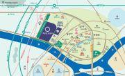 奥林匹克花园五期交通图