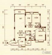 百福豪园4室2厅2卫139平方米户型图