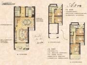绿墅湾4室2厅3卫0平方米户型图