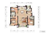 万科惠斯勒小镇4室2厅2卫160平方米户型图