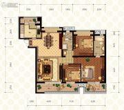 富力凯旋门0室0厅0卫0平方米户型图