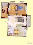 东方明珠2室2厅1卫0平方米户型图