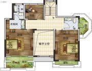 蓝天・英伦小镇4室3厅3卫171平方米户型图