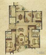广洋海尚国际4室2厅3卫181平方米户型图