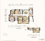 星河丹堤花园4室2厅2卫121--124平方米户型图