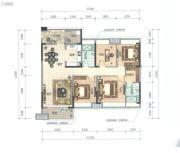 顺德华侨城・天鹅湖4室2厅2卫146平方米户型图