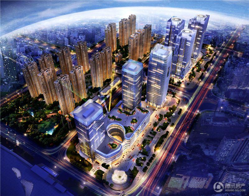 东二环-东区商务组团鸟瞰2