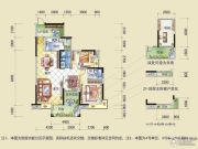盈拓御江3室2厅2卫0平方米户型图