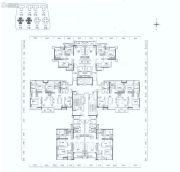 佛山绿地中心・璀璨天城4室2厅2卫89--124平方米户型图