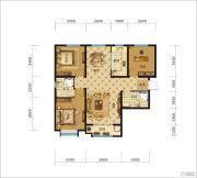 中交・香颂(廊坊)3室2厅2卫123平方米户型图