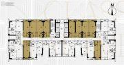 富力东山新天地1室1厅1卫50平方米户型图