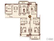 彩虹湖3室2厅2卫127平方米户型图