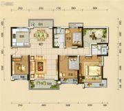 碧桂园翡翠山4室2厅2卫143平方米户型图