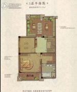 兰州・大名城5室3厅1卫439平方米户型图