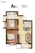 东亚风尚国际2室1厅1卫0平方米户型图