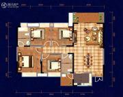 中天・宝电馨城4室2厅2卫142平方米户型图
