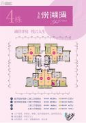 万山・悦湖湾2室2厅0卫86--107平方米户型图