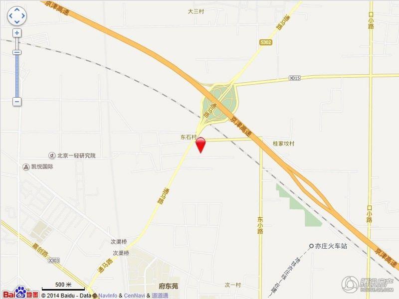 泰禾·拾景园交通图